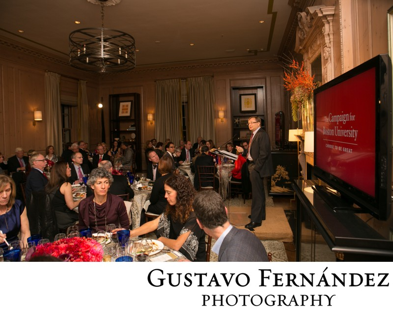 Boston University Event at San Francisco Fairmont