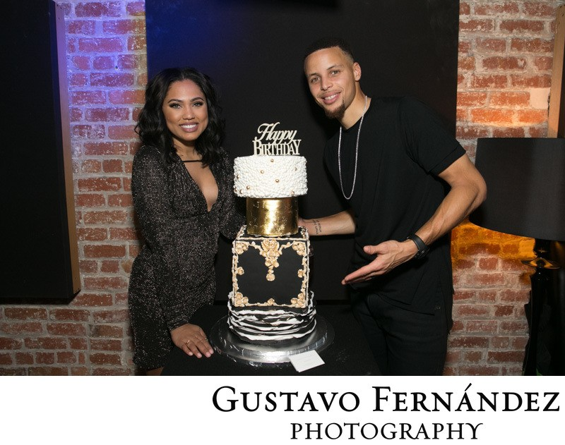San Francisco Event Photography Steph Curry Birthday