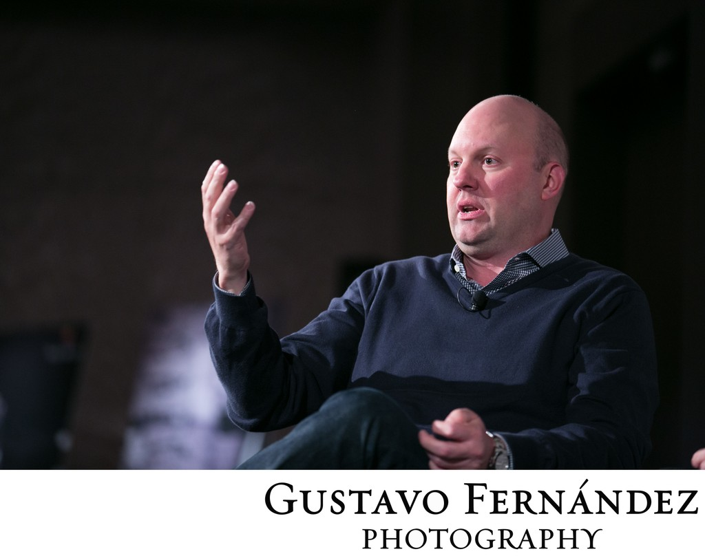 Marc Andreessen at Four Seasons Hotel Silicon Valley