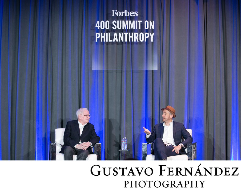 Warren Buffett at Forbes Philanthropy Summit