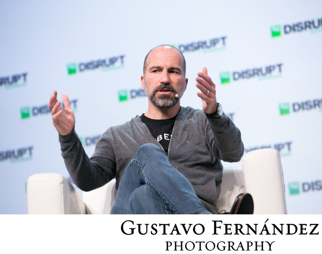 Uber CEO Speaks at San Francisco Event
