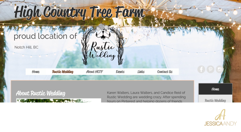 Rustic Wedding At High Country Tree Farm