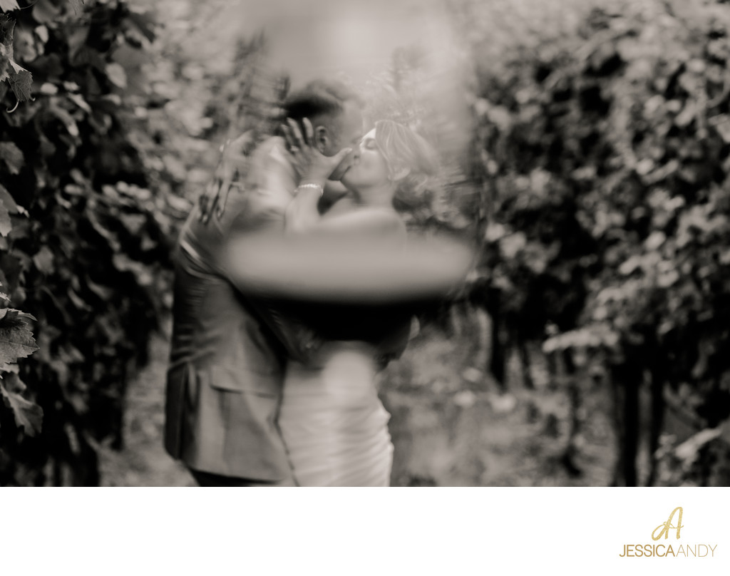 Kelowna Wedding Photographers - Bride and Groom Kiss