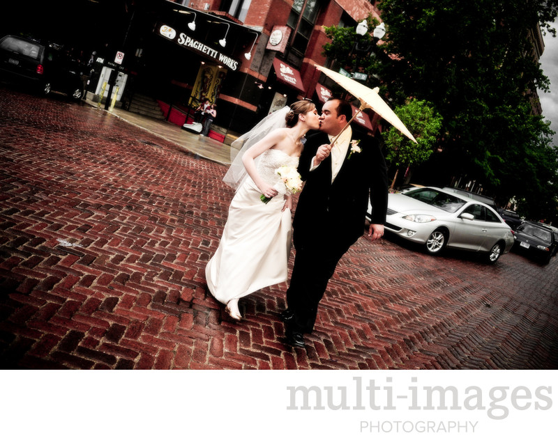 Downtown Omaha Wedding
