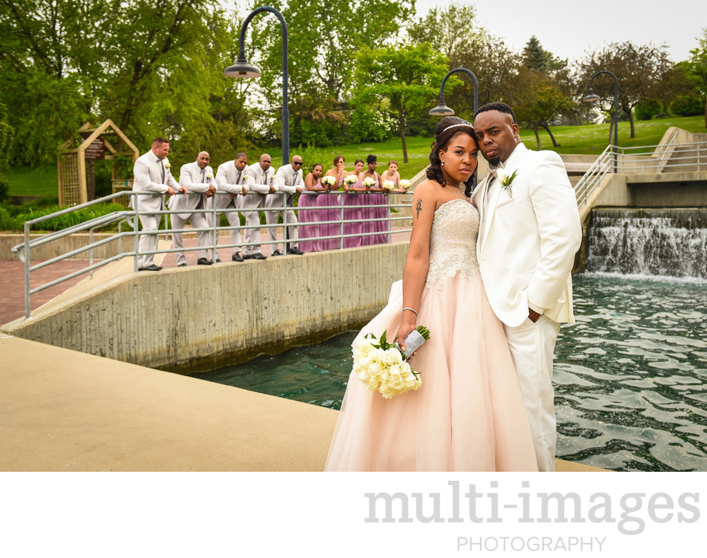 Gene Leahy Mall Wedding