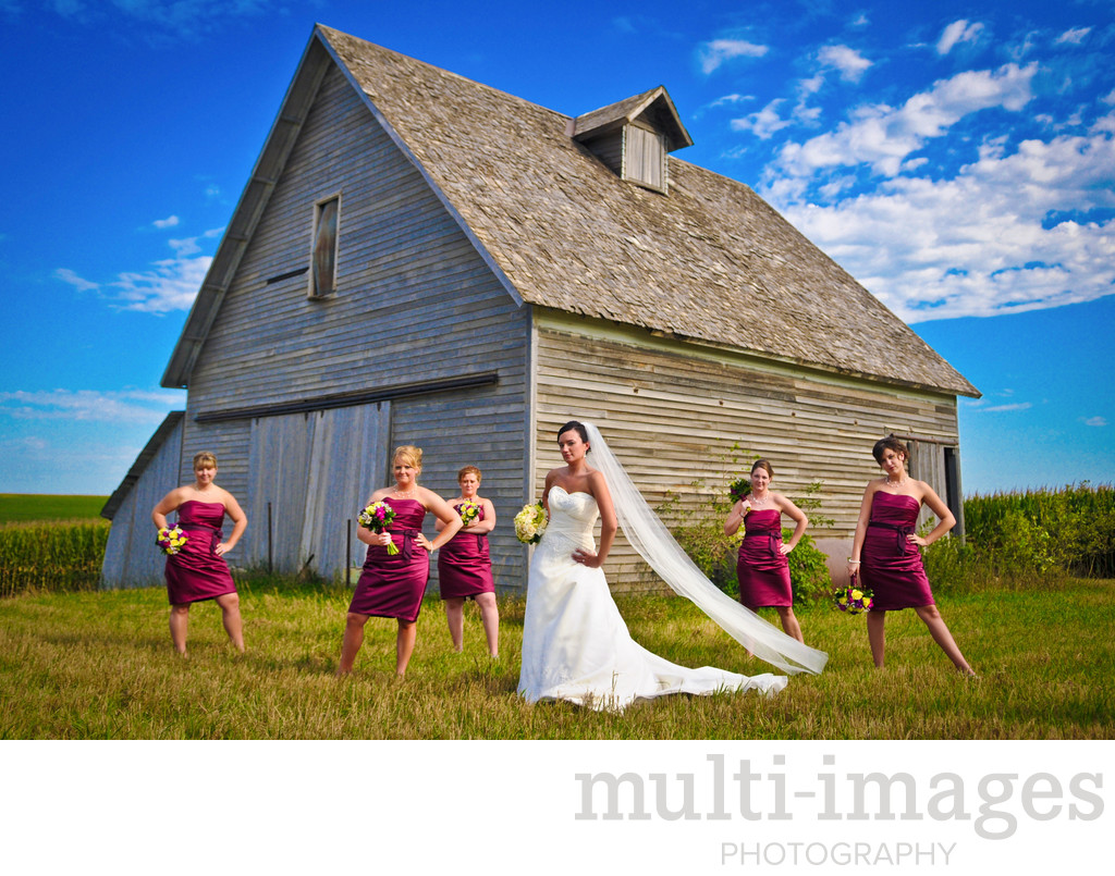 Papillion Barn Wedding