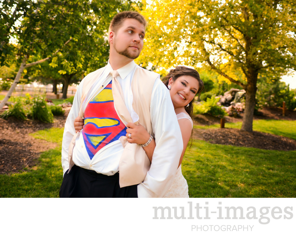 Super Man Wedding
