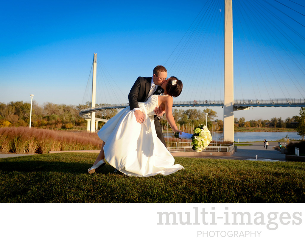 Bob Kerrey Pedestrian Bridge Wedding