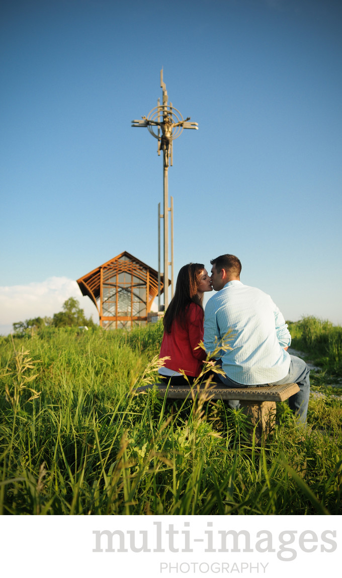 Holy Family Shrine Engagement
