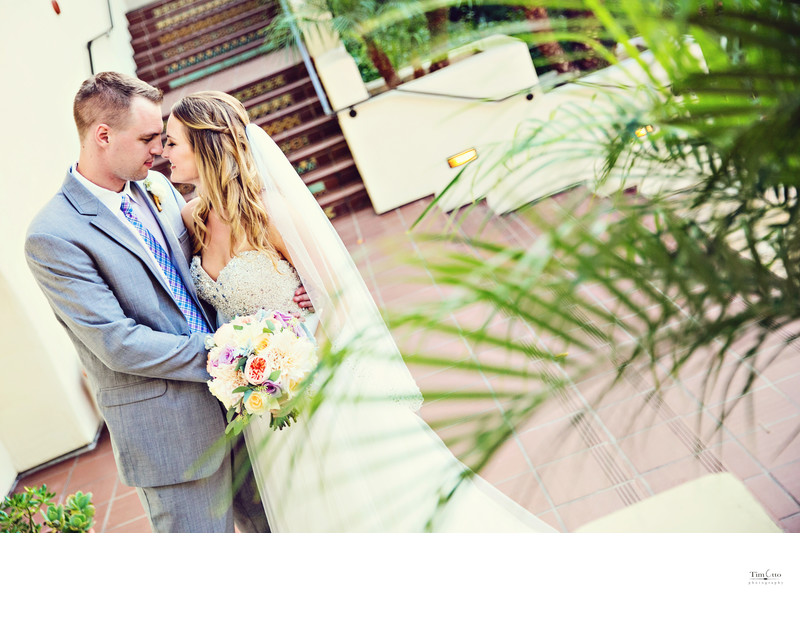 Estancia Hotel La Jolla Wedding Photographer
