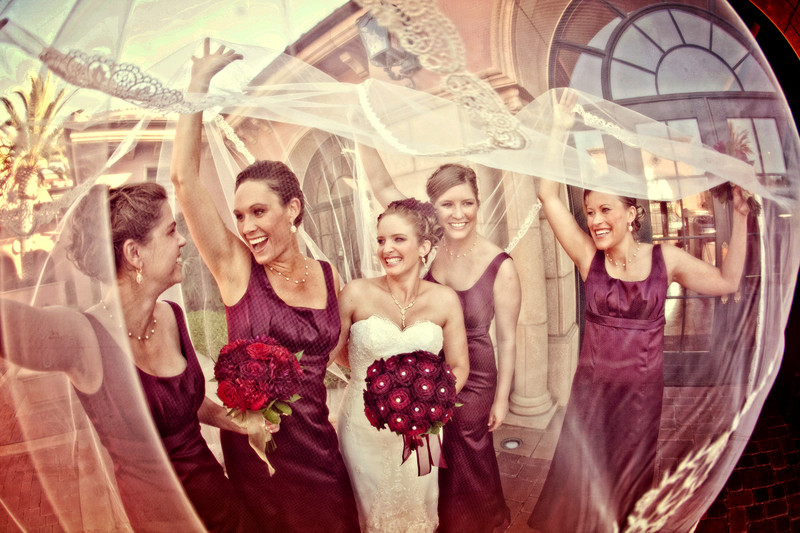 Bridesmaids at the Fairmont Grand Del Mar