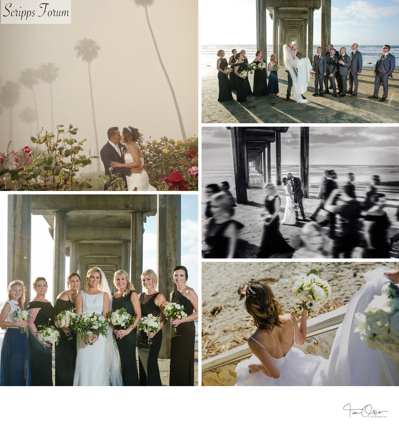 scripps seaside forum bridal party