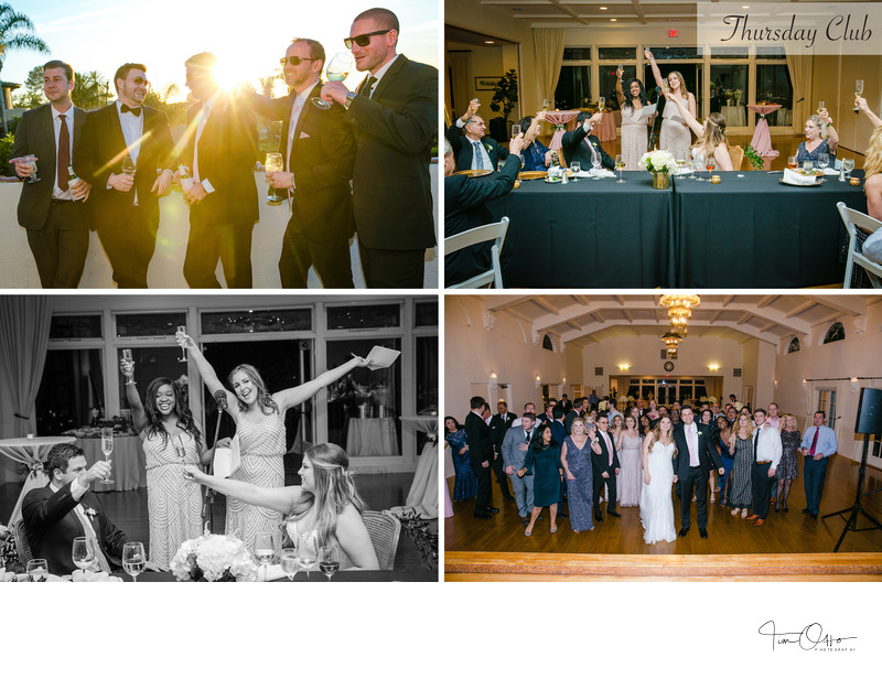 thursday club wedding photos