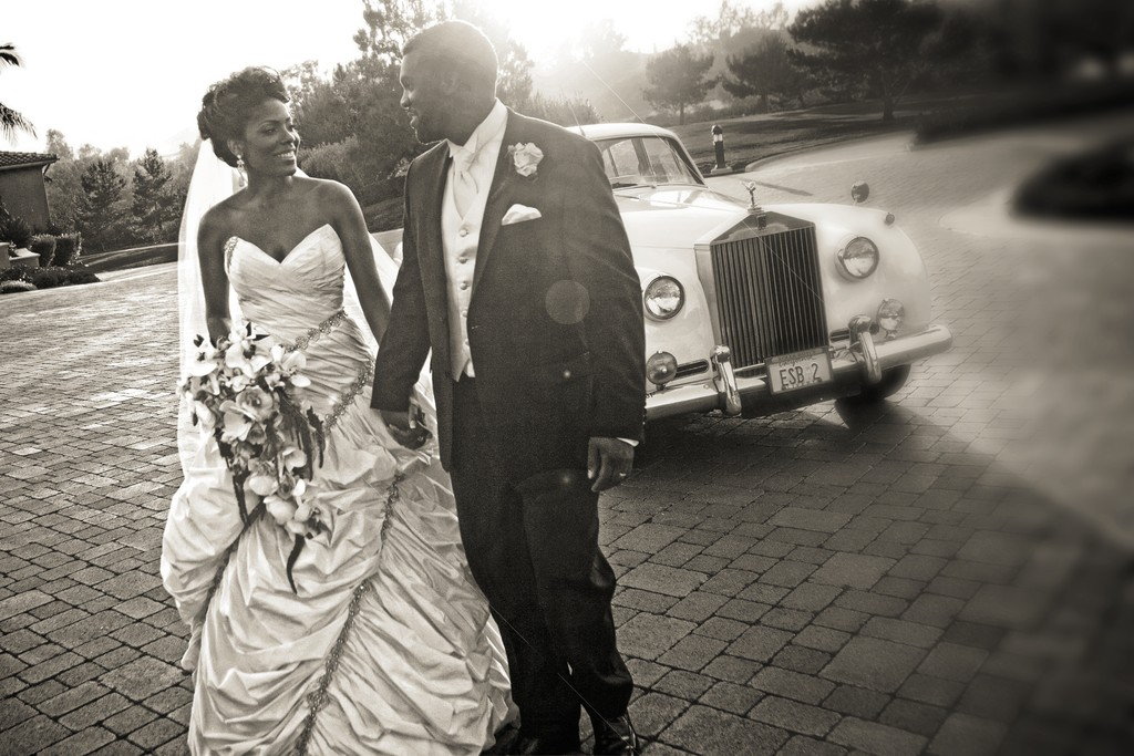 Wedding Photography with Classic Car