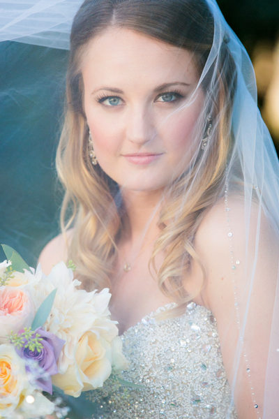 Stunning Bride at Estancia Hotel La Jolla