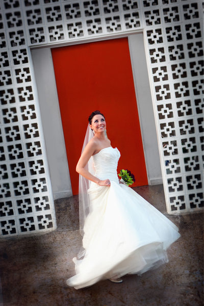 Bride Twirl at The Parker in Palm Springs