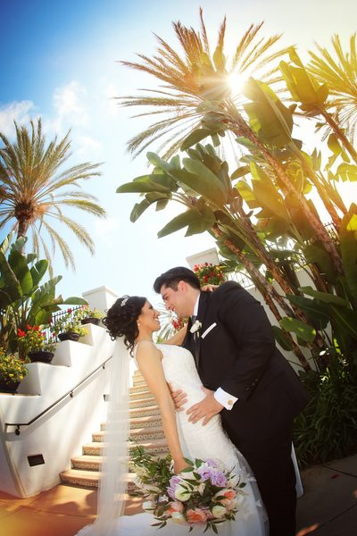 Omni La Costa Bride and Groom