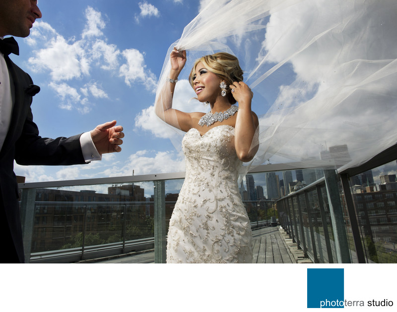 Roof Top Wedding Photo-Session