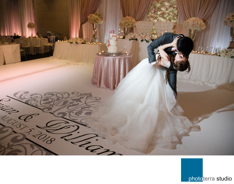 Choreographed Wedding Dance Photo