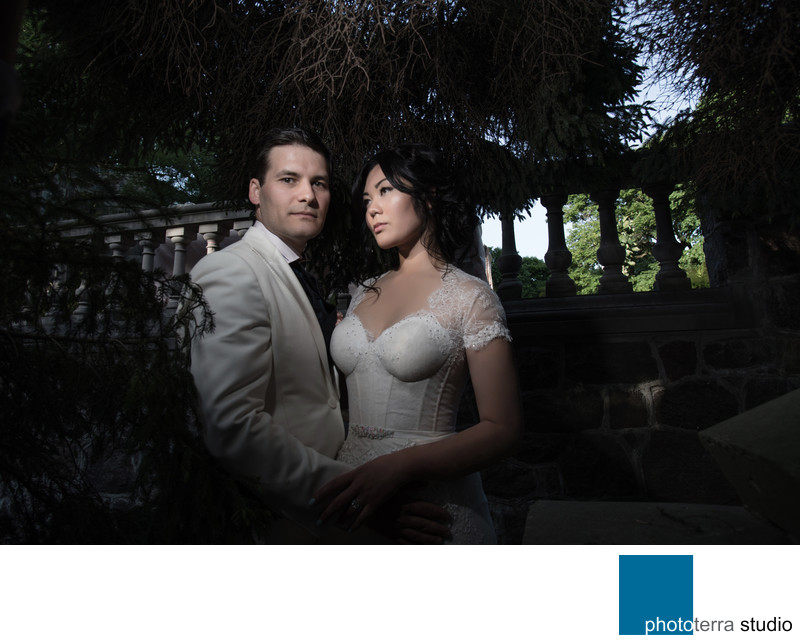 Couple's Wedding Photograph