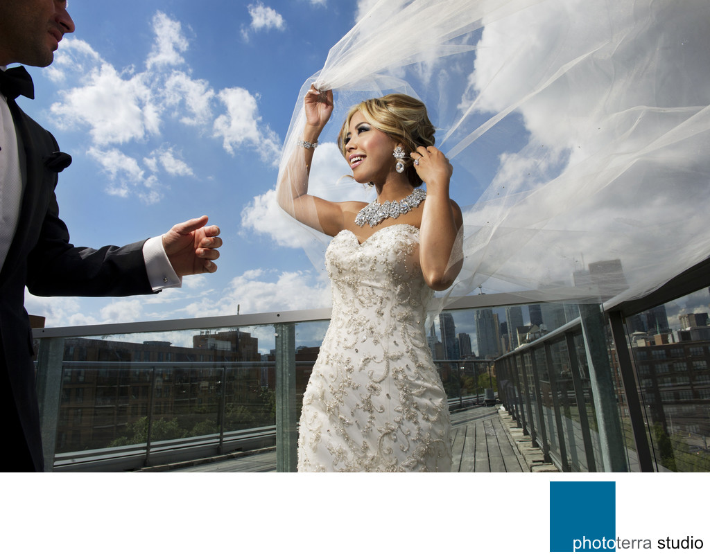 Rooftop Wedding Photo-Session