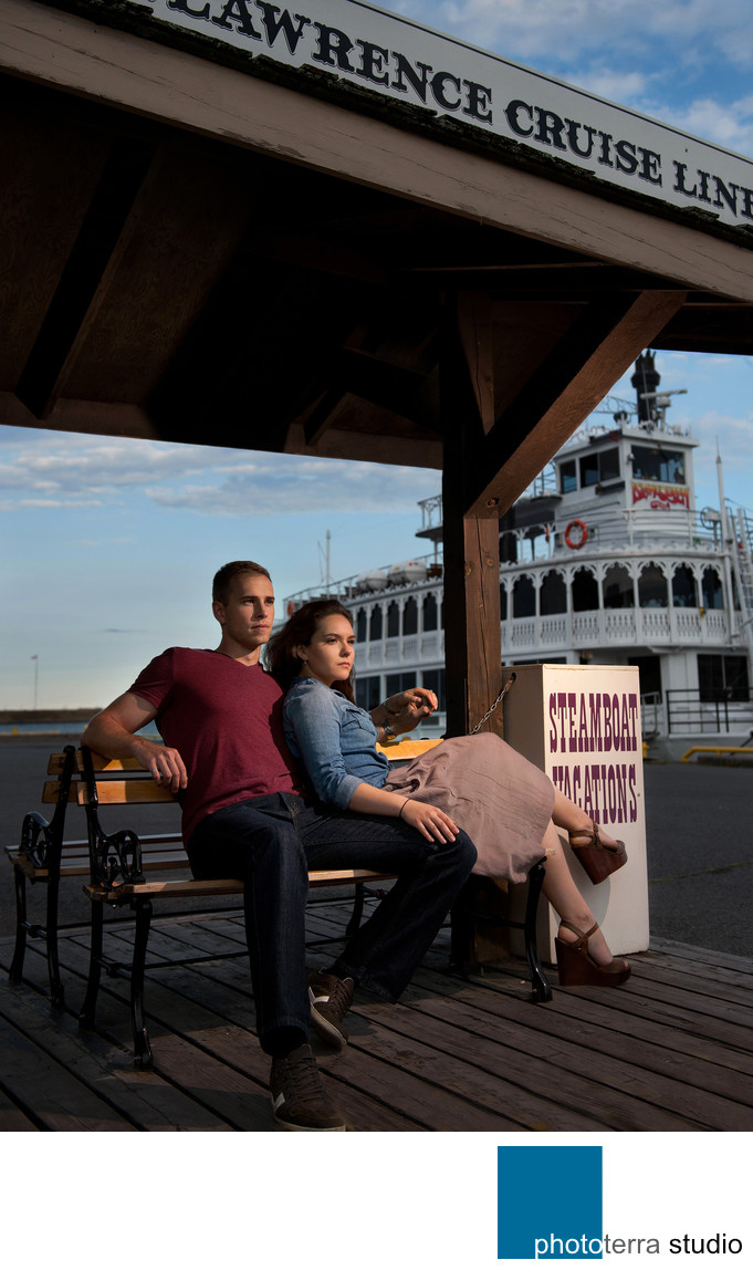 Photo of a Couple on a Pier