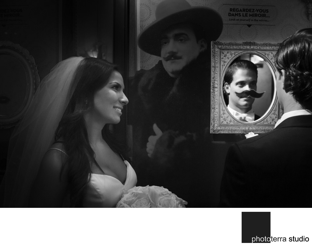 Movember Wedding