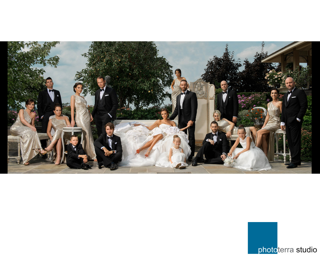 Vanity Fair Bridal Party Panorama