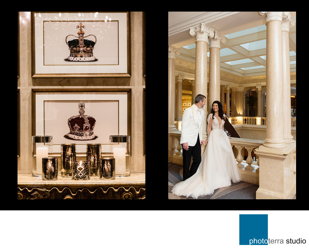 King Edward Hotel Wedding Portrait