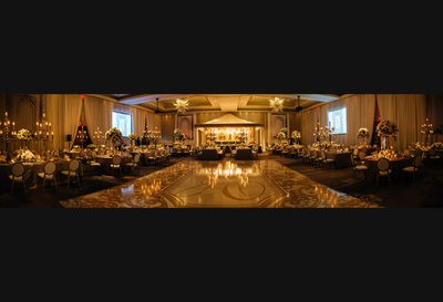Wedding Reception Panorama