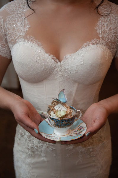 Alice In Wonderland Themed Wedding Detail
