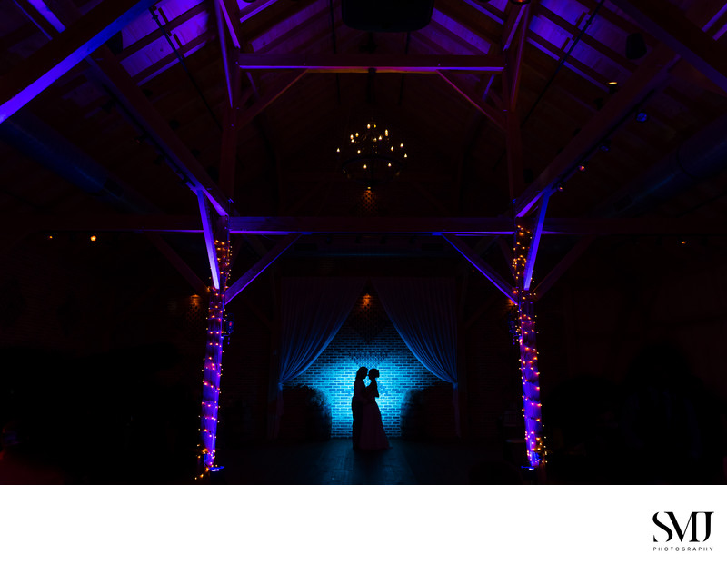 Brick Gables Wedding Photography Creative Portrait Silhouette