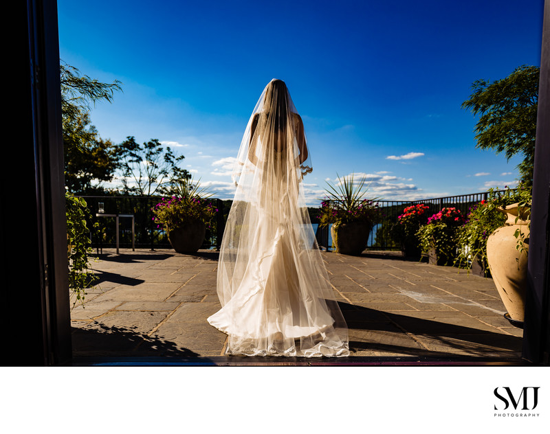 The Lake House Inn Perkasie Wedding Bride Dress Photographer