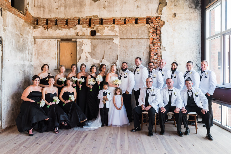 Excelsior Lancaster Wedding Photographer Bridal Party