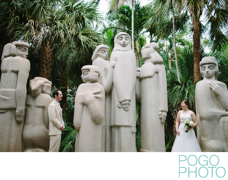 First Look, Ann Norton Sculpture Gardens, Florida