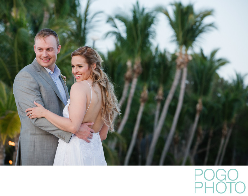 Relaxed Keys Elopement Portraits on Little Palm Island
