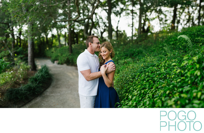 Morikami Museum and Japanese Gardens Engagement Photos