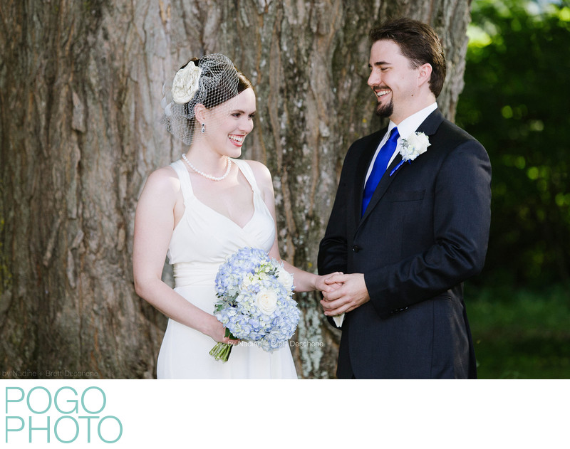 The Pogo Wedding: laughing through our vows at ceremony