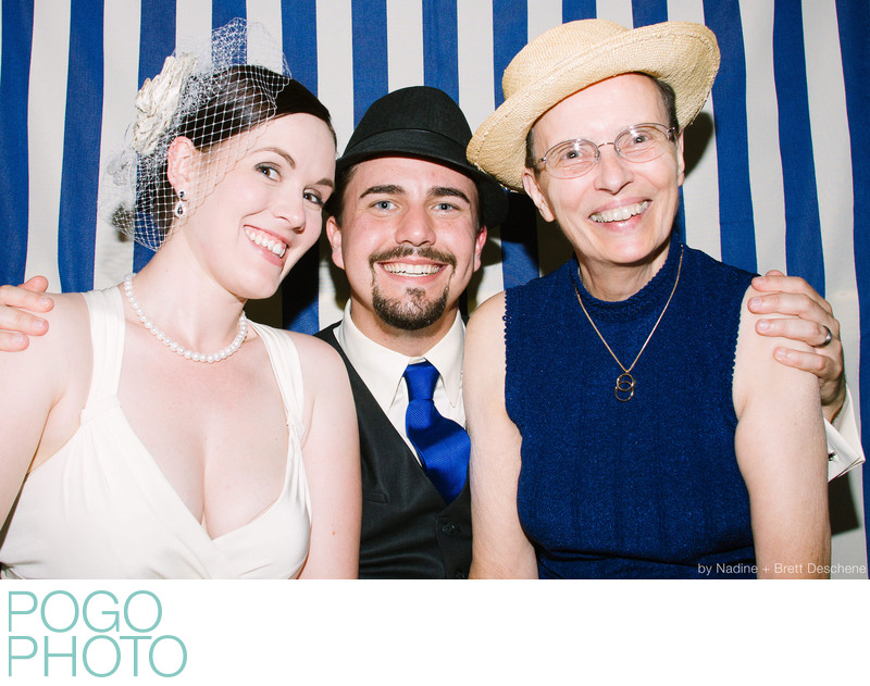 The Pogo Wedding: our own photo booth