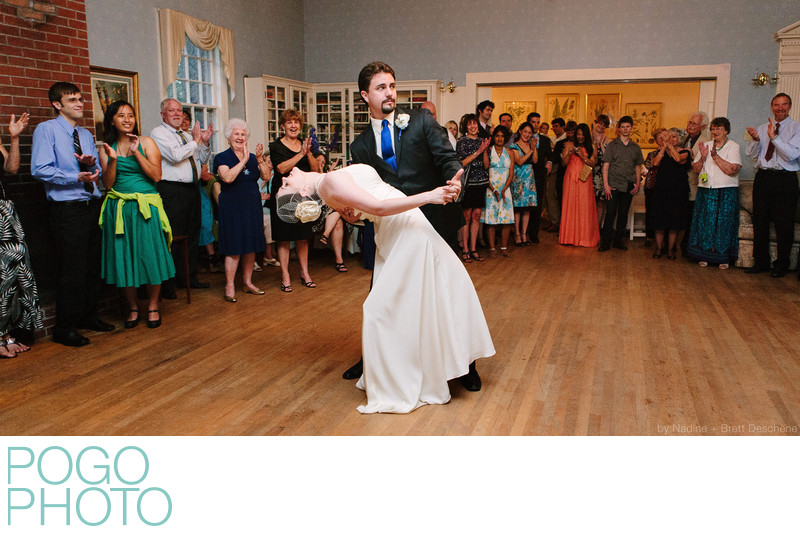 The Pogo Wedding: Our first dance was to
