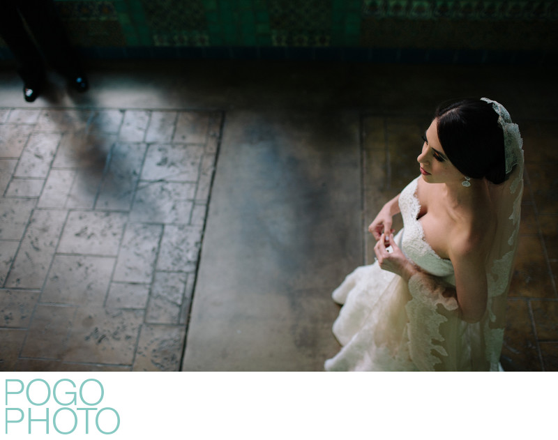 Cinematic Documentary Portrait at Coral Gables Wedding