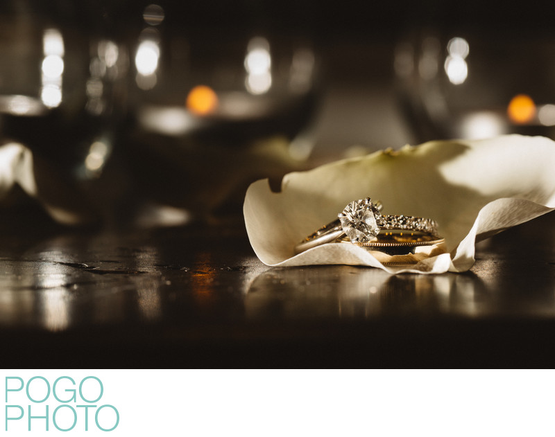 North Palm Beach Photographers' Wedding Rings Image