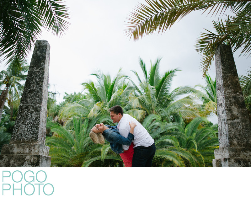 Bonnet House Engagement Photography in Fort Lauderdale