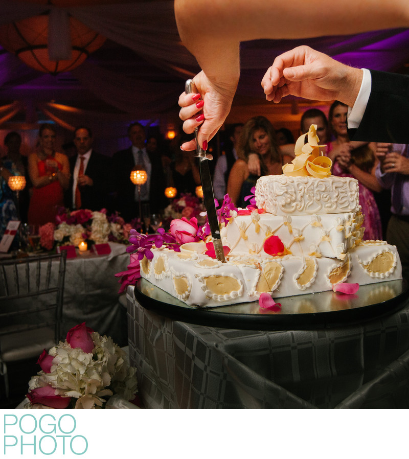 Innovative Cake Cutting Photo by Jupiter Photographers