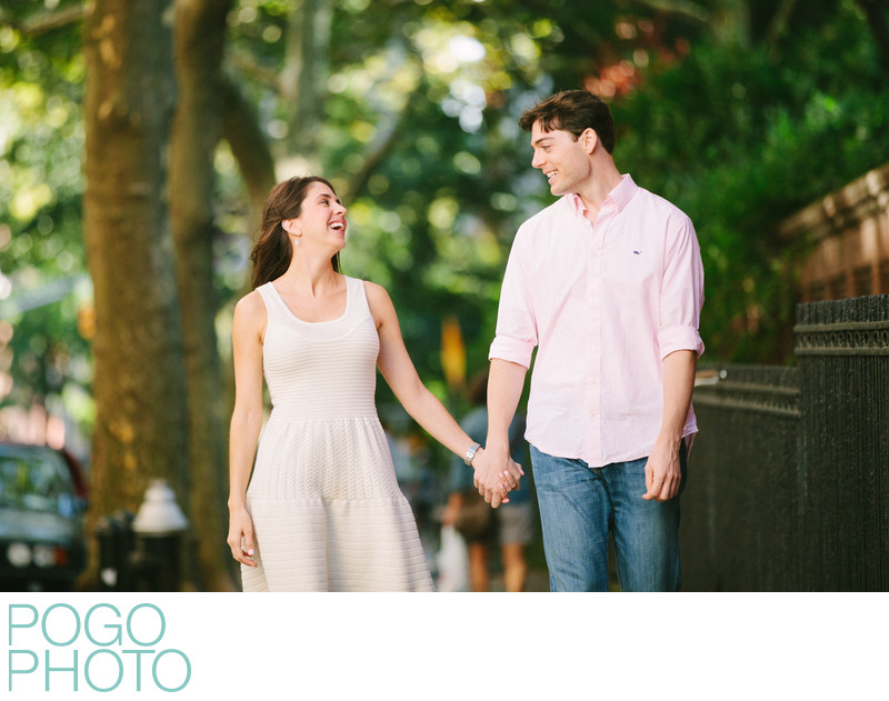 Brooklyn Heights Engagement Photography by Love Lane