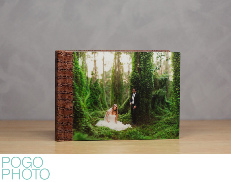Pogo Photo Signature Album with Printed Metal Cover