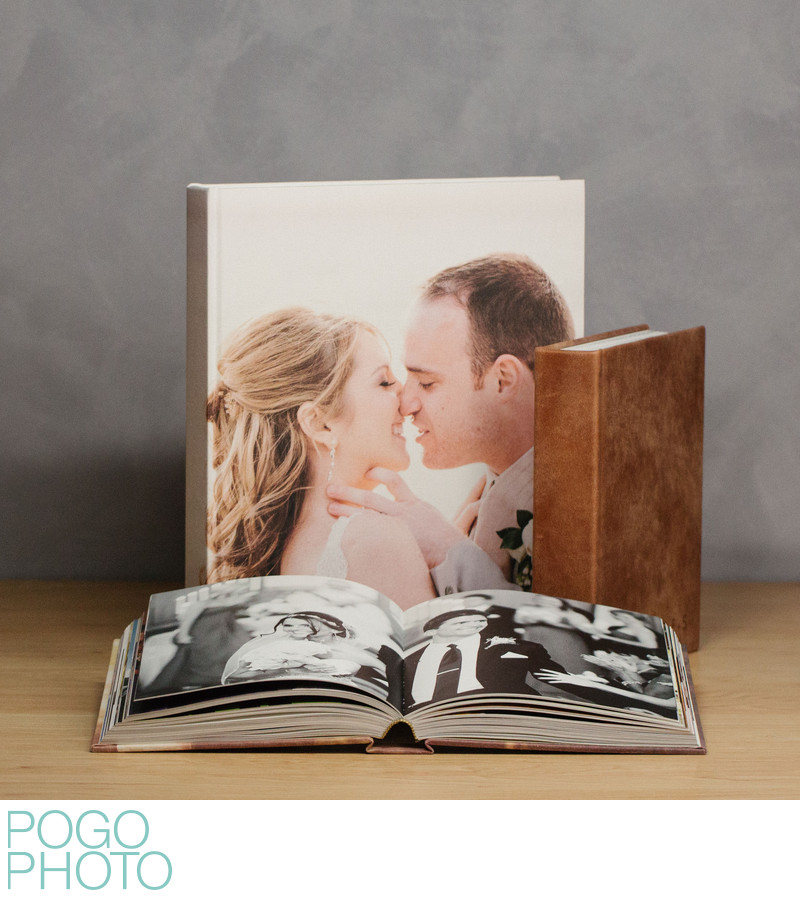 Pogo Photo Coffee Table Art Books, Standard + Large