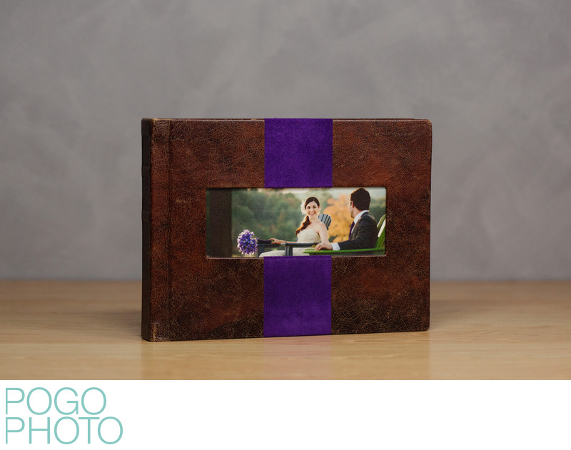 Pogo Photo Signature Album with Krumble Leather