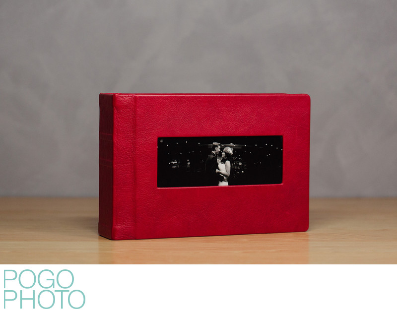 Pogo Photo Signature Album with Passion Red Leather