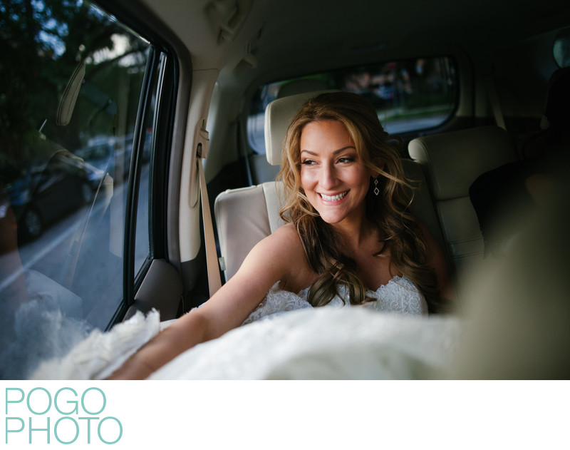 Palm Beach Wedding Photographers With Giddy Bride